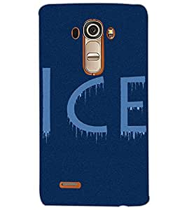 LG G4 ICE Back Cover by PRINTSWAG
