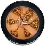 Iman Cosmetics Second To None Semi Loose Powder-Sand Medium