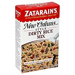 Zatarain\'s GLUTEN-FREE Original New Orleans Style DIRTY RICE MIX 8oz (10 pack)