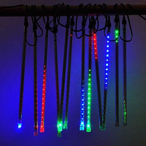 LEDwholesalers Set of 12 Mini LED Snowfall Light