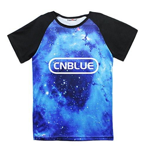 Fanstown Fashion Kpop Starry Sky Shirt with lomo cards (Cnblue Merchandise compare prices)