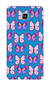 ZAPCASE PRINTED BACK COVER FOR SAMSUNG GALAXY A9 PRO (2016) Multicolor