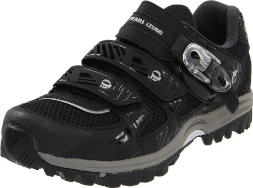 Pearl iZUMi Men's X-Alp Enduro III Spinning Shoe,Black/Shadow ,46 EU/11.5 D US