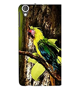 printtech Wild Colorful Parrot Tree Back Case Cover for HTC Desire 820::HTC Desire 820Q::HTC Desire 820S
