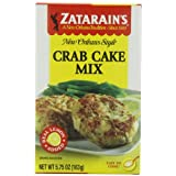 Zatarain's Seafood Cake Mixes, Crab Cake Mix, 5.75-Ounce Boxes (Pack of 12) ~ Zatarain's