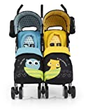 Cosatto You2 Twin Stroller (Owl and Pussycat)