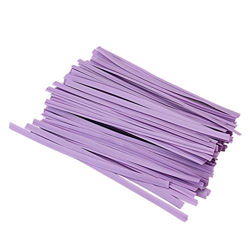 100x-sellado-ataduras-alambre-twist-ties-para-piruletas-bolsas-color-lavanda