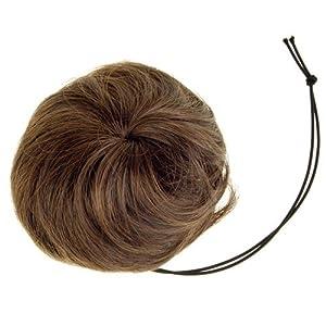 hair bun pieces brown collections
