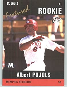 2004 Just Minors Featured Preview Pujols Black #AP5 Albert Pujols - St. Louis... by Topps Gypsy Queen