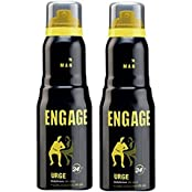 Engage Man Bodylicious Deodorant Spray - Urge (150ml) (Pack Of 2)