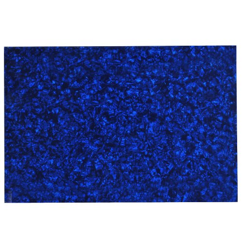 1Pc Blue Pearl 3Ply 430Mmx290Mm Blank Scratch Plate Sheet Diy Guitar Bass Pickguard Material