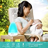 Seneo 100ml Aroma Essential Oil Diffusers Ultrasonic Cool Mist Humidifiers for Home, Room, SPA, Yoga