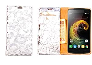 R&A Pu Leather Wallet Case Cover For Nokia Lumia 1320