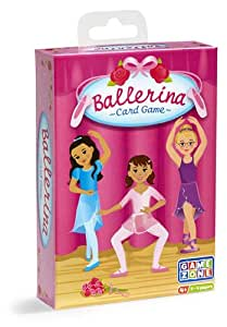 Ballerina Card Game and Memory Match Educational Learning Game