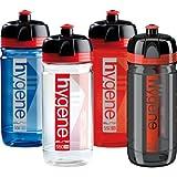Elite Hygene Corsa Bacteria Resistant Plastic Water Bottle - Clear Red, 550ml