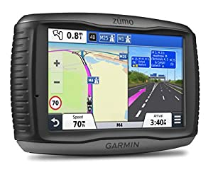 "Garmin zumo 590LM 5"" Motorbike Sat Nav with UK and Full Europe Maps, Free Lifetime Map Updates and Bluetooth"