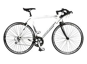 Viking Men's Elite 700 C 18 SPD STI Road Racing Bike - White, 59 cm by Viking