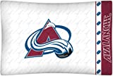 NHL Colorado Avalanche Micro Fiber Pillow Case Logo at Amazon.com