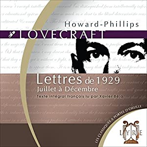 Lettres de 1929, Juillet à Décembre Audiobook