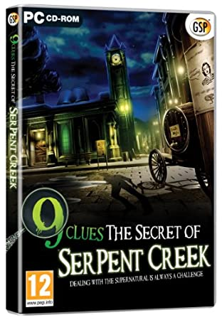 9 Clues: The Secret of Serpent Creek (PC DVD)