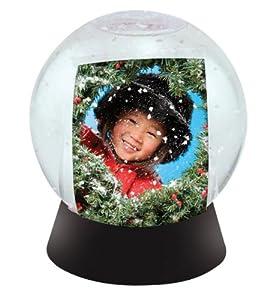 Photo Snow Globe with Black Base