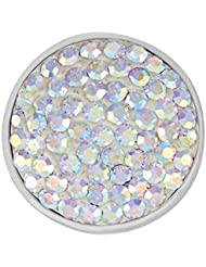 Ginger Snaps OPALESCENT SUGAR SNAP SN32-18 Interchangeable Jewelry Snap Accessory