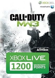 Xbox Live - 1200 Microsoft Points - im Design von Call of Duty: Modern Warfare 3