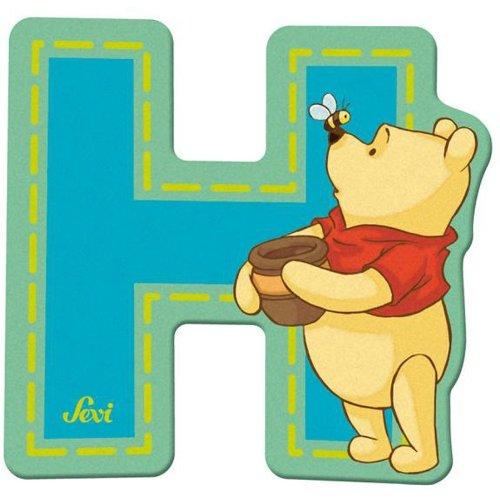Sevi 82766 Klebebuchstabe H Winnie the Pooh