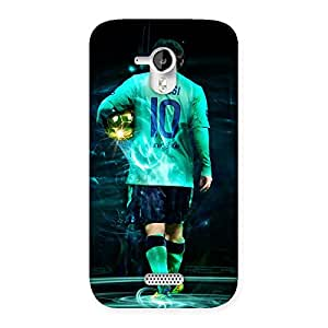 The Awesome Star of 10 Back Case Cover for Micromax Canvas HD A116