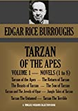 Image of TARZAN OF THE APES. VOLUME 1. BOOKS 1 TO 8. (Timeless Wisdom Collection Book 1201)