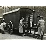 Packers loading a Museum Box Van with objects going on loan (Print On Demand)