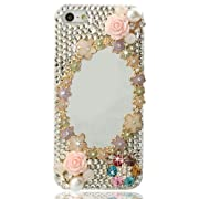 NOVA Case Glamour Bling Crystal iPhone Case iPhone 5 Pink Magic Mirror