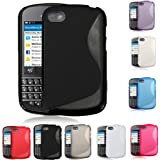 S Line Wave Soft TPU Gel Silicone Protective Case For BlackBerry Q10
