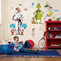 Dr. Seuss Giant Wall Decals from Birthday Express