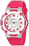 Armitron Sport Womens 25/6420MAG Easy-to-Read Dial Textured Magenta Resin Strap Watch