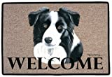 Border Collie Decorative Mat