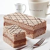 新杵堂 豆乳を使ったふわふわチョコレートケーキ「チョコふわふわ」 2本