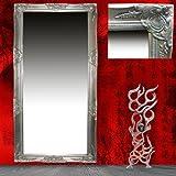 Spiegel Wandspiegel Flurspiegel silber Barock JILL 185 x 70 cm