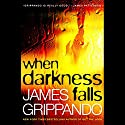 When Darkness Falls Audiobook by James Grippando Narrated by Jonathan Davis