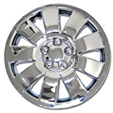 TuningPros WSC-721C16 Chrome Hubcaps Wheel Skin Cover 16-Inches Silver Set of 4