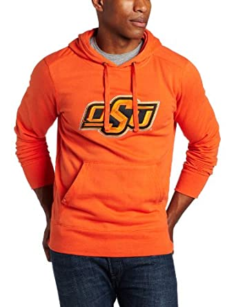NCAA Oklahoma State Cowboys Applique Signature Hoodie Mens by Antigua
