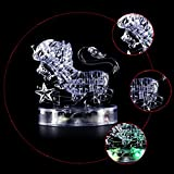 Coolplay CP9052A DIY 3D Crystal Puzzle with Flash Light Constellation Series - Leo