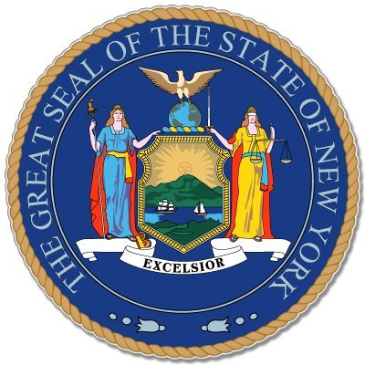 new york state seal. new york state seal picture.