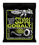 Ernie Ball 2721 Cobalt Regular Slinky Electric Guitar Strings (3-pack)