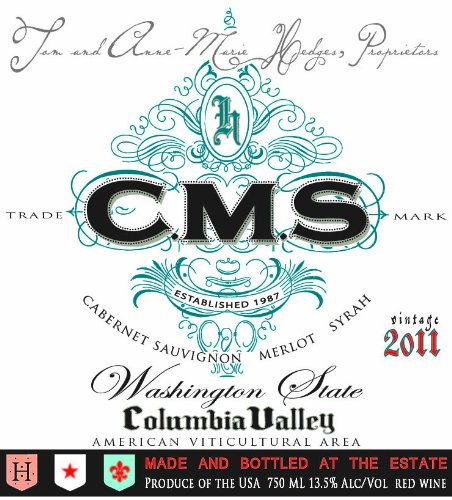 2011 Cms Columbia Valley Red 750Ml