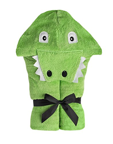 Yikes Twins Child Hooded Towel - Alligator