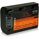 Power Batterie NP-FH50 pour Sony CyberShot DSC-HX1 | DSC-HX100V | DSC-HX200V - DSLR Alpha 230 DSLR-A230 | 330 DSLR-A330 | 380 DSLR-A380 | 390 DSLR-A390 - Camcorder DCR-DVD Series | DCR-HC Series et bien plus encore...