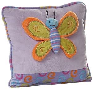 Play n Pets PNP-3495V Butterfly Cushion 27cm, Violet
