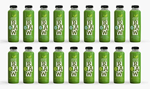 Juice From the RAW 3 Day ORGANIC Juice Cleanse - Maintenance Greens - 18 Bottles (Raw Pressed Juice compare prices)