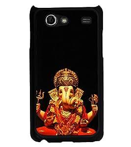 Ganpati 2D Hard Polycarbonate Designer Back Case Cover for Samsung I9070 Galaxy S Advance :: Samsung Galaxy S II Lite